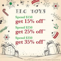 [Mothercare] Save more when you purchase ELC toys this Christmas!