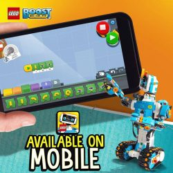 [The Brick Shop] Next level of play and code initiated 🚀 The LEGO® BOOST App is now available for selected iOS and Android MOBILE