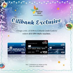 [The Seletar Mall] Citibank Card Holders!