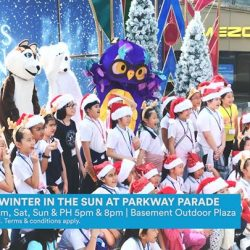 [Parkway Parade] Step into a winter wonderland, right here at ParkwayParadeSG.