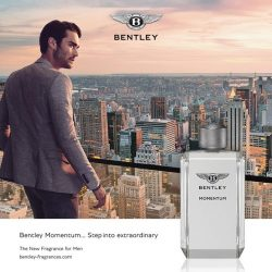 [COSMETICS & PERFUMES BY SHILLA] Bentley Fragrances' olfactive signature, made up of premium ingredients, has inspired the most seasoned perfume lovers.