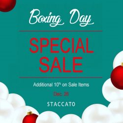 [Staccato] Additional Discount on top of 20/40!