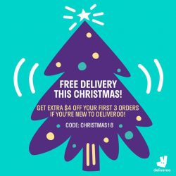 [The Marmalade Pantry] Order your The Marmalade Pantry favourites on Deliveroo and enjoy free delivery from now till 24 December 2017!