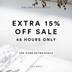 [MDSCollections] The sale starts now, online exclusive | Extra 15% off on sale items