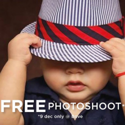 [Spring Maternity] Get a free photoshoot at Bove by Spring Maternity this Saturday when you spend $120 in a single receipt at