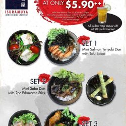 [ISURAMUYA JAPANESE RESTAURANT & MARKET PLACE] Hey kids!