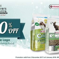 [Pet Lovers Centre Singapore] 20% off your favourite pet snacks, 25% off pet toys, Buy 6 get 1 free - Those are just SOME of