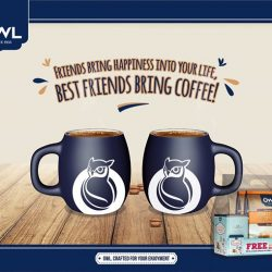 [Owl Café] Our best friend definitely knows us from the inside out, down to our all-time favourite coffee.