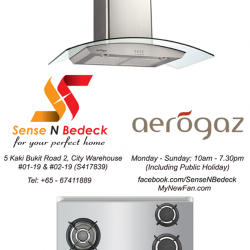 [SENSE AND BEDECK] Ceiling fans, LED lights, water heaters, bathroom and kitchen products of various brands all on display over at our showroom.