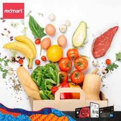 [UOB ATM] Shop online with RedMart this festive season and have your groceries shipped right to your doorstep!