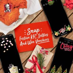 [KFC Singapore] Win yourself KFC vouchers when you show us how you get merry this season!