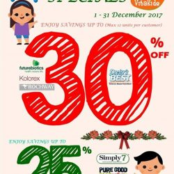 [VitaKids] Shop our VitaKids December Sales!