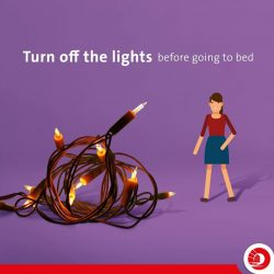 [OCBC ATM] Consider turning off those christmas lights when the guests are away and the kids are asleep.