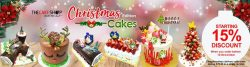 [THE CAKE SHOP] Your last day for our early bird discount!