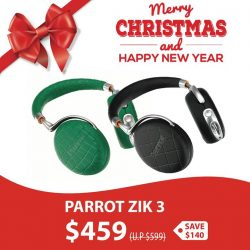 [iStudio] Give yourself the best sound in total freedom with Parrot Zik 3, wireless, hi-tech, stylish, ultra-intuitive audio headset.