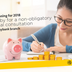 [Maybank ATM] Make savings part of your New Year resolutions for 2018.