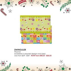 [Mothercare] Dwinguler Mat is the world's premium baby and kids playmat!