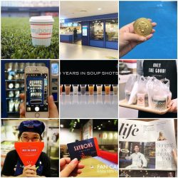 [SAYBONS - by French Food Factory] Our year 2017 summed up- 3 new shops, 1 medal, 2 vending machines, 10 soup shots, 1 major logo refresh,