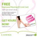 [Digi-Sound Hearing Care Centre] To promote hearing awareness and hearing health, for the month of December, Digisound Hearing is giving out FREE EZ-Link