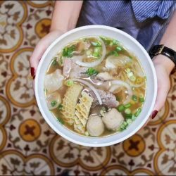 [Pho Street] FREE upsize from the regular Pho Beef Combination to a JUMBO version of it?