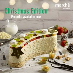 [Marché Mövenpick Singapore] How can a Christmas party be completed without a Christmas feast?