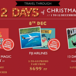 [Flight Centre] It's mid-way through 12 Days of Christmas!
