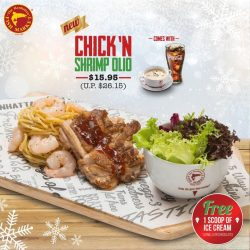 [The Manhattan FISH MARKET Singapore] The Christmas celebration begins and so does our delicious Christmas Set Lunch promotion!