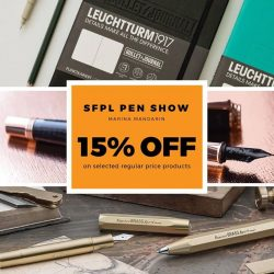 [Cityluxe] Join us at the Singapore Fountain Pen Lover's Pen Show 2017!