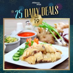 [Millenia Walk] It's Day 19 of our 25DelightfulDays and for just today, you can buy a whole Soya Chicken from Sin