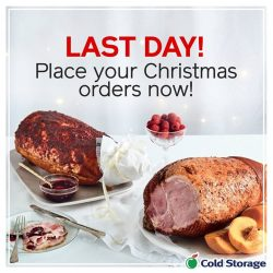 [Cold Storage] Last day to place your orders!
