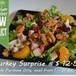 [Simply Wrapps] December Exclusive – Turkey Surprise @$12.