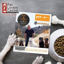 [Pet Lovers Centre Singapore] Guess who's embracing our cover this month!