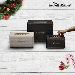 [Singtel] Enjoy 6 months of Singtel Music - Spotify Premium on us with any purchase of Marshall Wireless Multi-Room speakers.