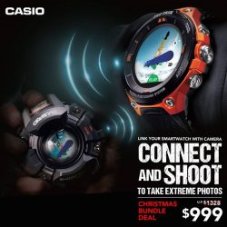 [Casio Timepiece Singapore] Stay connected with your moments.