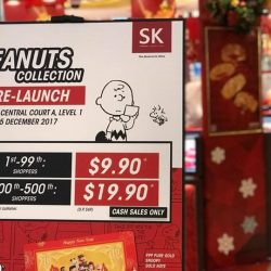 [SK Jewellery] Countdown to the start of the Peanuts Pre-launch event at VivoCity!