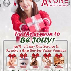[AVONE BEAUTY SECRETS] Glam up for this Xmas season with unbelievable offers with irresistible rewards worth up to $2000!