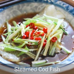 [THE SEAFOOD MARKET PLACE BY SONG FISH] Steamed Cod FishA popular dish amongst Chinese is steamed fish.
