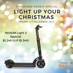 [Falcon PEV] We want to Light Up Your Christmas with these amazing deals for our INOKIM Light and INOKIM Light 2 models!