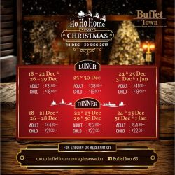 [Buffet Town] Looking for a place to host friends or family during this festive period?