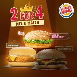 [Burger King Singapore] Grab a friend and a good deal before the year ends!