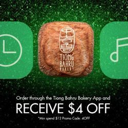 [Tiong Bahru Bakery] If you haven't downloaded the Tiong Bahru Bakery App yet, download it now to receive $4 off!