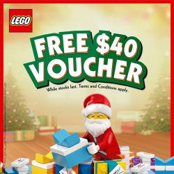 [The Brick Shop] Spend $250 (excludes discount items/ bundle deal) and get $40 cash voucher for your next purchase.