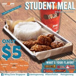 [Wing Zone Singapore] Attention Flavorholics Jr!