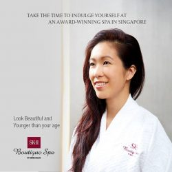 [SK-II Boutique Spa] Indulge yourself SK-II Boutique Spa, award-winning facial and spa as recommended by: 1.