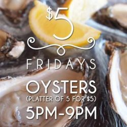 [The Beacon] This Friday only we are serving Aigue Marine Special Oyster!