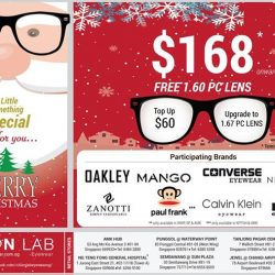 [Vision Lab] Get your FREE BLUE ZERO PC LENS at SGD$168 onwards with purchase of branded eye-wear frame from Oakley,