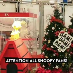 [SK Jewellery] Join us at our roadshow at VivoCity Level 1 to explore the world of Snoopy and friends!