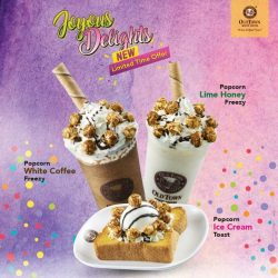 [OLDTOWN White Coffee Singapore] Contest Alert: Some of the most pop-ular sweet treats from our menu just got a makeover.