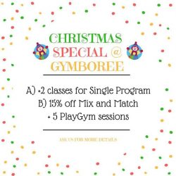 [GYMBOREE PLAY & MUSIC] Give the Gift of Play this Christmas!