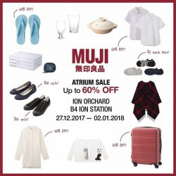 [MUJI Singapore] Great deals up for grabs starting tomorrow!